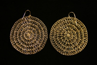 Claudia Lobao Life Circle Earrings