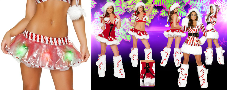 Santa costumes with flair