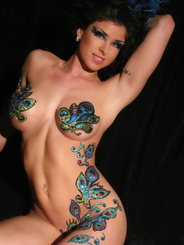Body Art that is self adhesive